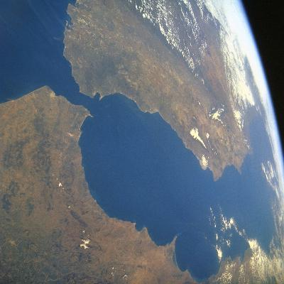 Strait of Gibraltar, Satellite Image--Photographic Print