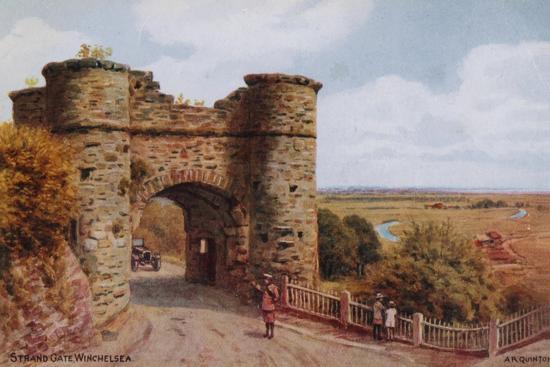 Strand Gate, Winchelsea-Alfred Robert Quinton-Giclee Print