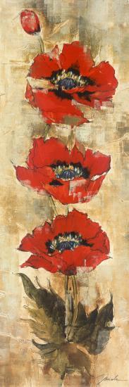 Strand of Poppies I-Elizabeth Jardine-Art Print