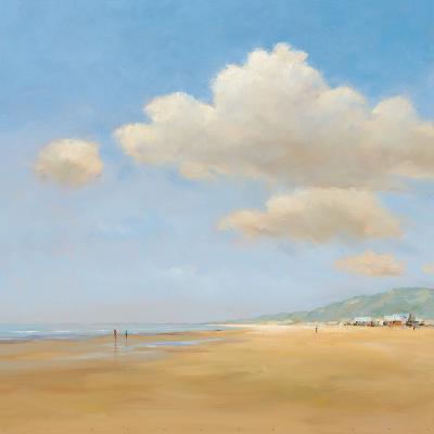 Strandwandeling-Jan Groenhart-Art Print