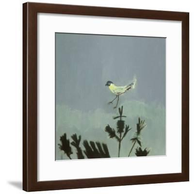 Strange Bird Alighting, 1982-David Alan Redpath Michie-Framed Giclee Print