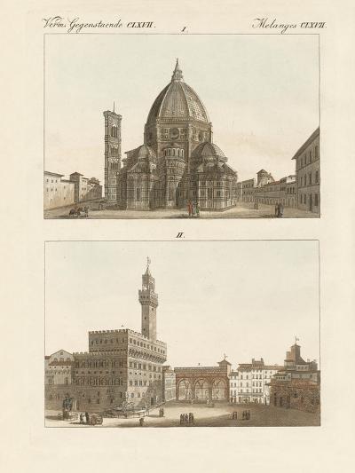 Strange Buildings in Florence--Giclee Print