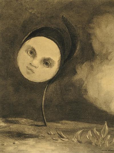 Strange Flower (Little Sister of the Poor), 1880-Odilon Redon-Giclee Print