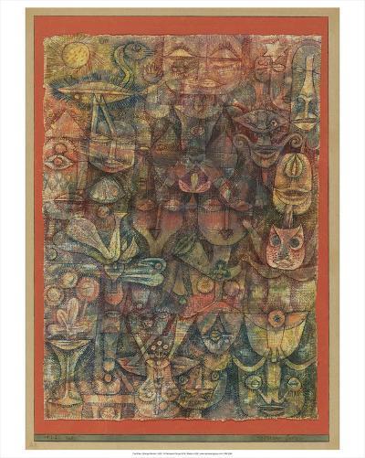Strange Garden, 1923-Paul Klee-Art Print