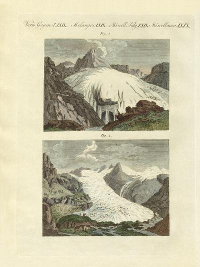 Strange Glaciers as the Birth of Large Rivers--Giclee Print