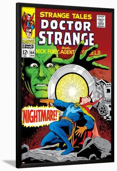 Strange Tales No.164 Cover: Dr. Strange and Yandroth-Dan Adkins-Lamina Framed Poster