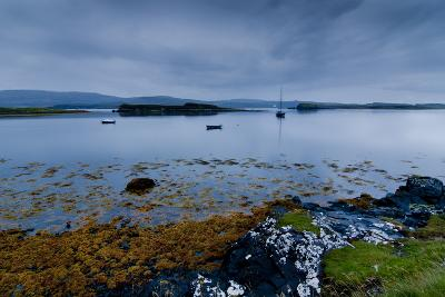 Strange Twilight Seascape of Loch Dunvegan on the Isle of Skye-Charles Bowman-Photographic Print