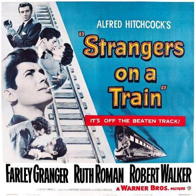 Strangers on a Train, 1951--Art Print
