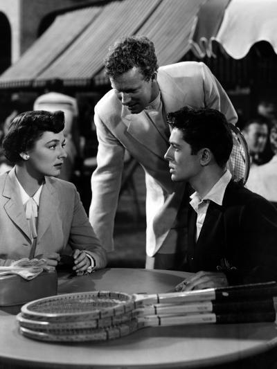Strangers on a Train, Ruth Roman, Farley Granger, 1951--Photo