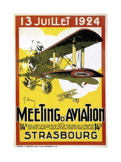 Strasbourg Aviation--Giclee Print