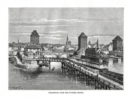 Strasbourg, France, 1879-C Laplante-Giclee Print
