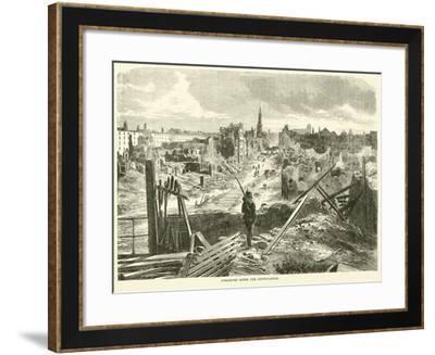 Strasburg after the Capitulation, September 1870--Framed Giclee Print