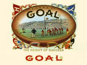 Goal: The Height Of Success by Strasser & Voigt Litho Haywood