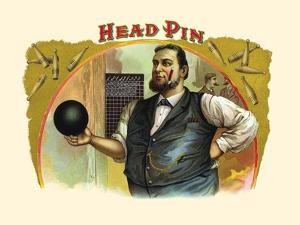 Head Pin by Strasser & Voigt Litho Haywood