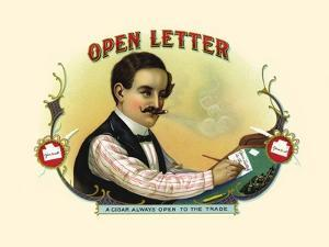 Open Letter by Strasser & Voigt Litho Haywood
