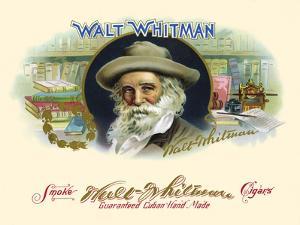 Walt Whitman by Strasser & Voigt Litho Haywood