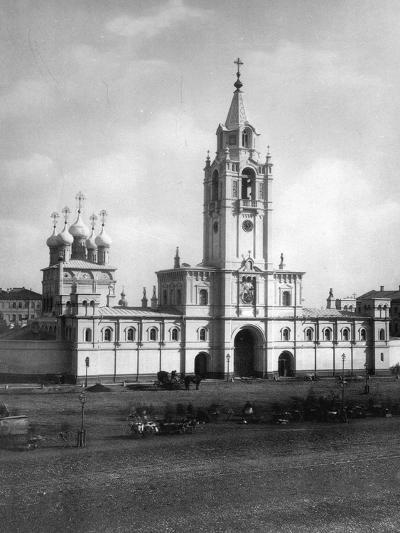 Strastnoy Monastery, Moscow, Russia, 1881- Scherer Nabholz & Co-Photographic Print