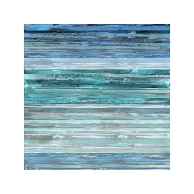 Strata In Aqua-Matt Shields-Giclee Print