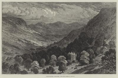 Strathpeffer, Ross-Shire, from the Highland Railway--Giclee Print