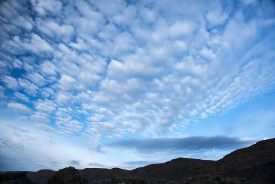 Stratocumulus Clouds over Scablands-Michael Melford-Photographic Print