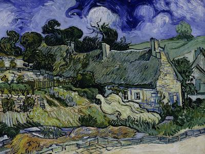 Straw-Decked Houses in Auvers-Sur-Oise, c.1890-Vincent van Gogh-Giclee Print