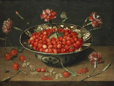 Strawberries in a Bowl, about 1630-Jacob Van Hulsdonck-Giclee Print