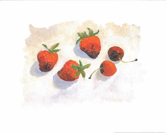 Strawberries-Urpina-Art Print