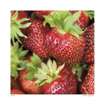 Strawberries-Stacy Bass-Giclee Print