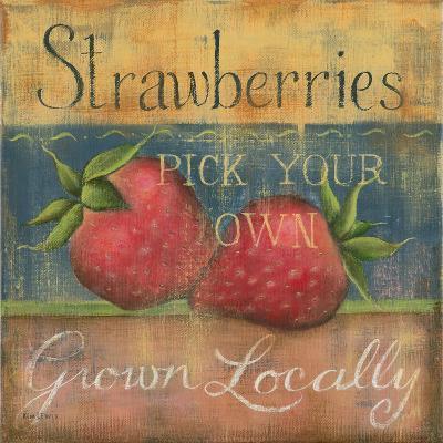 Strawberries-Kim Lewis-Art Print