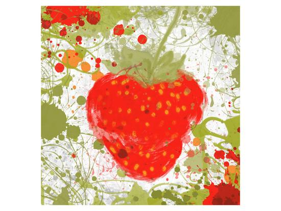Strawberry II-Irena Orlov-Art Print