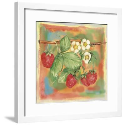 Strawberry-Maria Trad-Framed Giclee Print