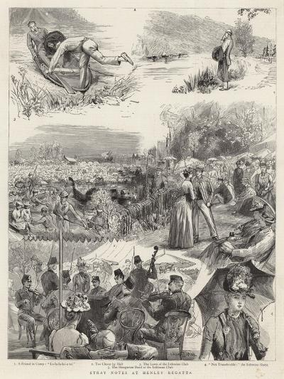 Stray Notes at Henley Regatta-Sydney Prior Hall-Giclee Print