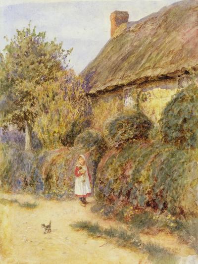 Straying-Helen Allingham-Giclee Print