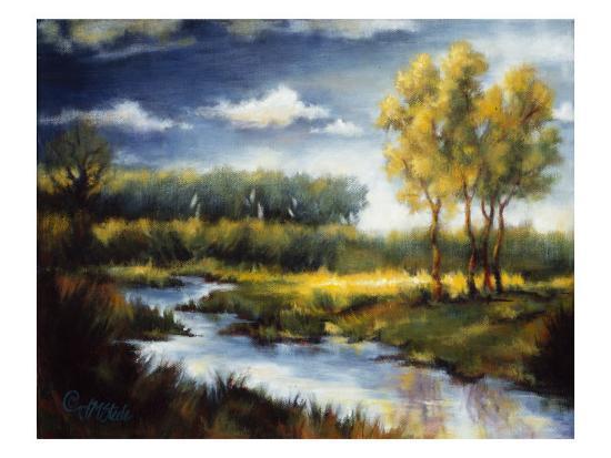 Stream and Field I-J^m^ Steele-Premium Giclee Print