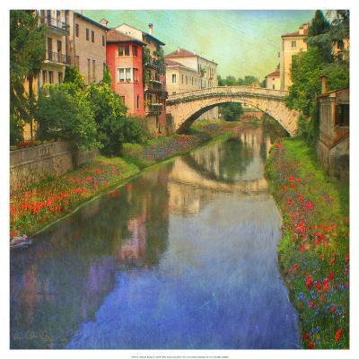 Stream Bridge-Chris Vest-Art Print