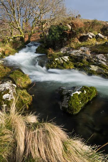 Stream in Croesor Valley, Gwynedd, Wales, United Kingdom, Europe-John Alexander-Photographic Print