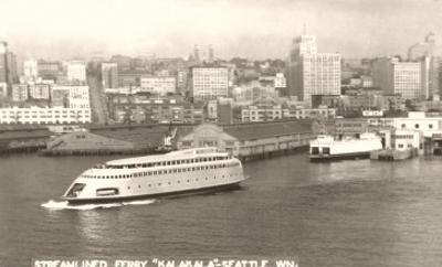Streamlined Ferry, Seattle, Washington