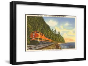 Streamlined Train, Seattle, Washington