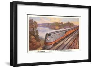 Streamlined Train, Wisconsin Dells