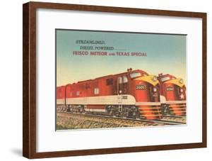 Streamlined Trains