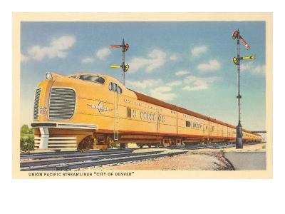 Streamliner, City of Denver--Art Print