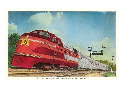 Streamliner, Rock Island Rocket--Art Print
