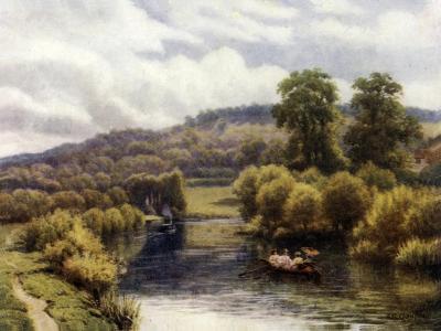 Streatley Reach-Alfred Robert Quinton-Giclee Print