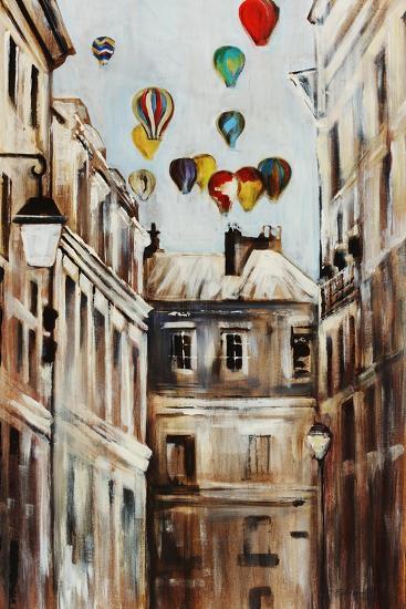 Street Affair-Sydney Edmunds-Giclee Print