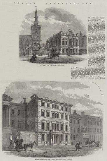 Street Architecture--Giclee Print