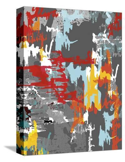 Street Camo-Carolina Pecora-Stretched Canvas Print