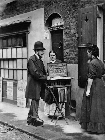 Street Doctor, 1876-77-John Thomson-Giclee Print