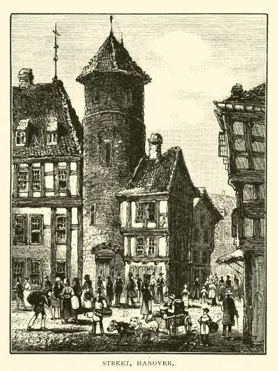 Street, Hanover--Giclee Print