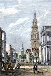 Street in Charleston, South Carolina, During the Secession Convention