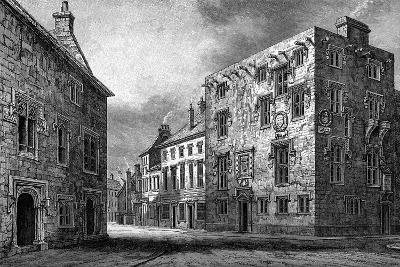 Street in Galway, Showing the House of Thomas Lynch, 1893-William Henry Bartlett-Giclee Print